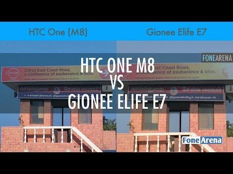 HTC One M8 vs Gionee Elife E7 Camera Comparison
