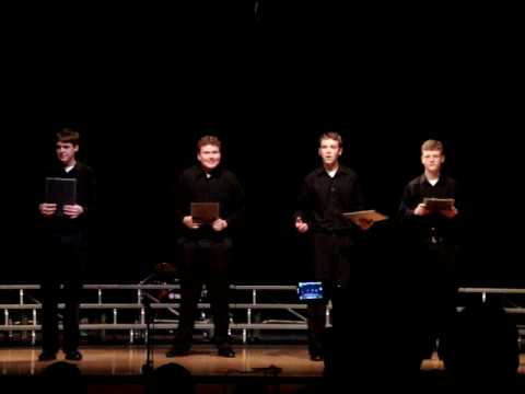 Forever Plaid Part 1 - Sidney High School - Nebraska State Champions OID Speech Team (Class B)