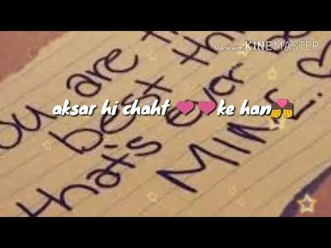 Tera Hone Lga Hoon Song By Atif Aslam Whatsapp Lyrical Video