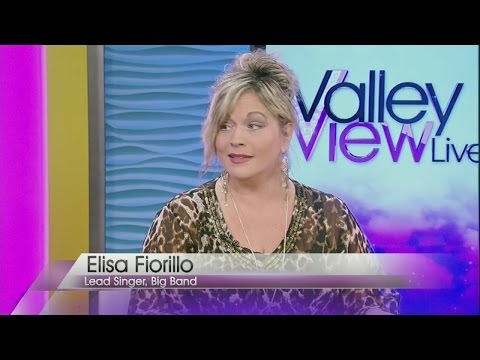 Jazz singer Elisa Fiorillo guest hosts Valley View Live!