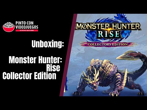 ¡UNBOXING! Monster Hunter Rise Collector Edition (NSW)