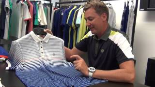 Ian Poulter tells us why he likes IJP Design's Albatross golf shirt