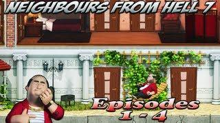 Neighbours From Hell 7 - Episodes 1-4 [100% walkthrough]