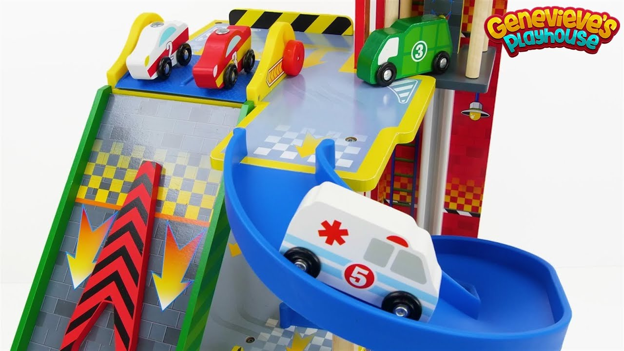 Best Wooden Toy Car Learning Video For