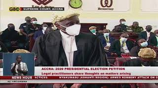 Legal practitioners share thoughts on 2020 Election petition