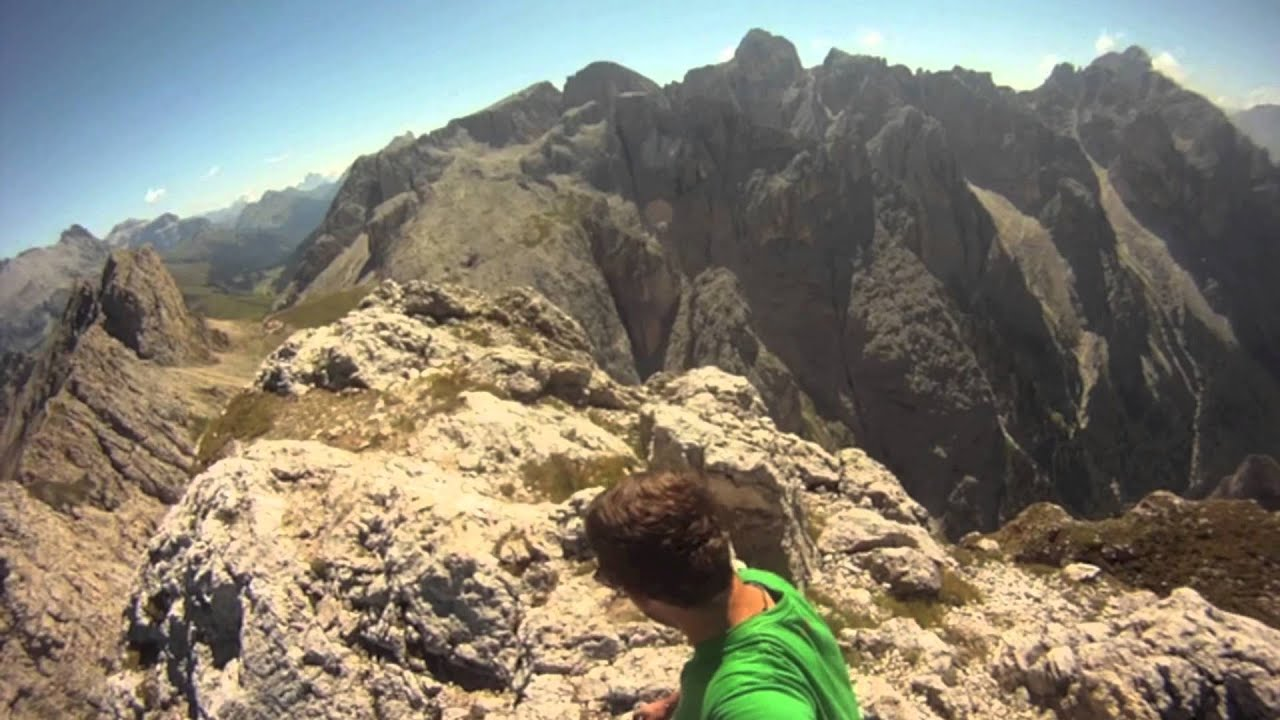 Maximilian Klettersteig : Maximilian klettersteig youtube