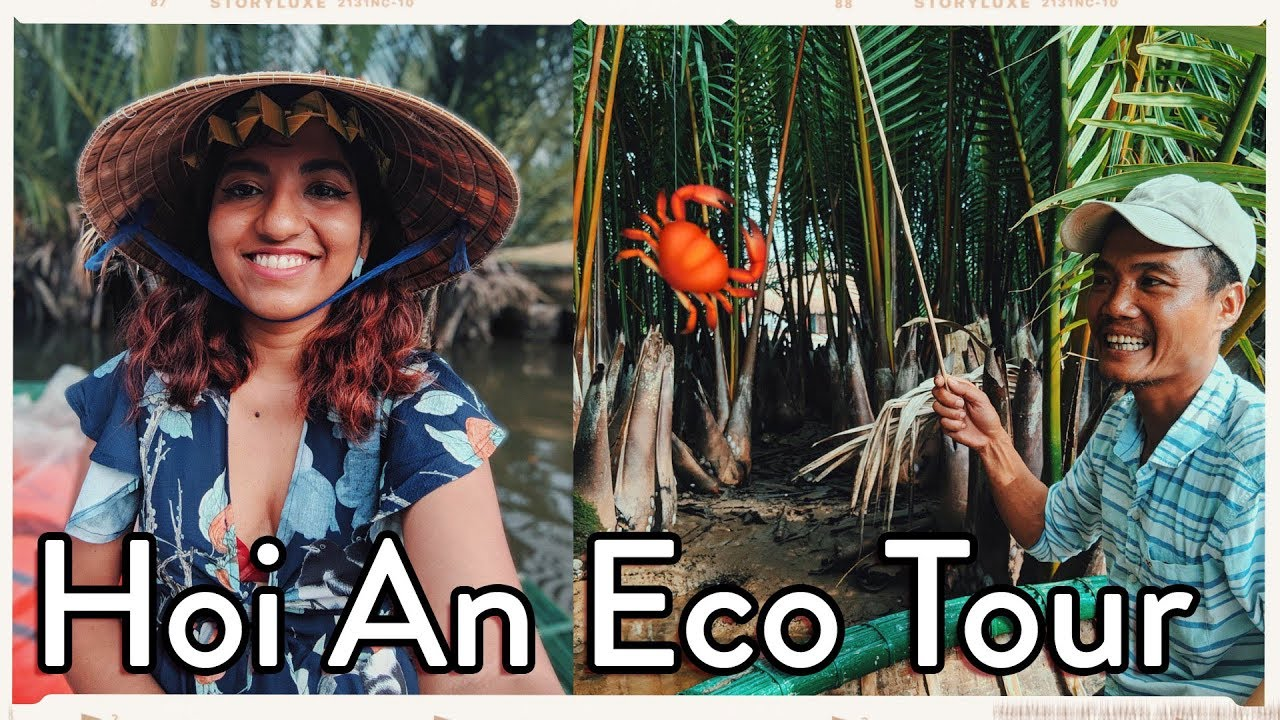Must Do in Hoi An! 🌱 Rural Vietnam Experience w/ Basket Boat + Crab Fishing 🇻🇳 // #MagaliTravels