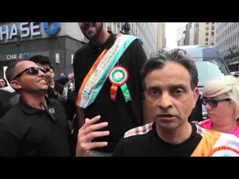 Vivek Ranadivé and Sim Bhullar celebrate Indian Heritage in NYC