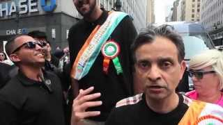 Vivek Ranadivé and Sim Bhullar celebrate Indian Heritage in NYC
