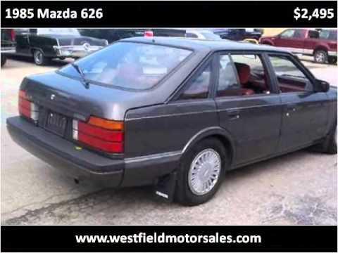 1985 mazda 626 used cars noblesville in youtube. Black Bedroom Furniture Sets. Home Design Ideas