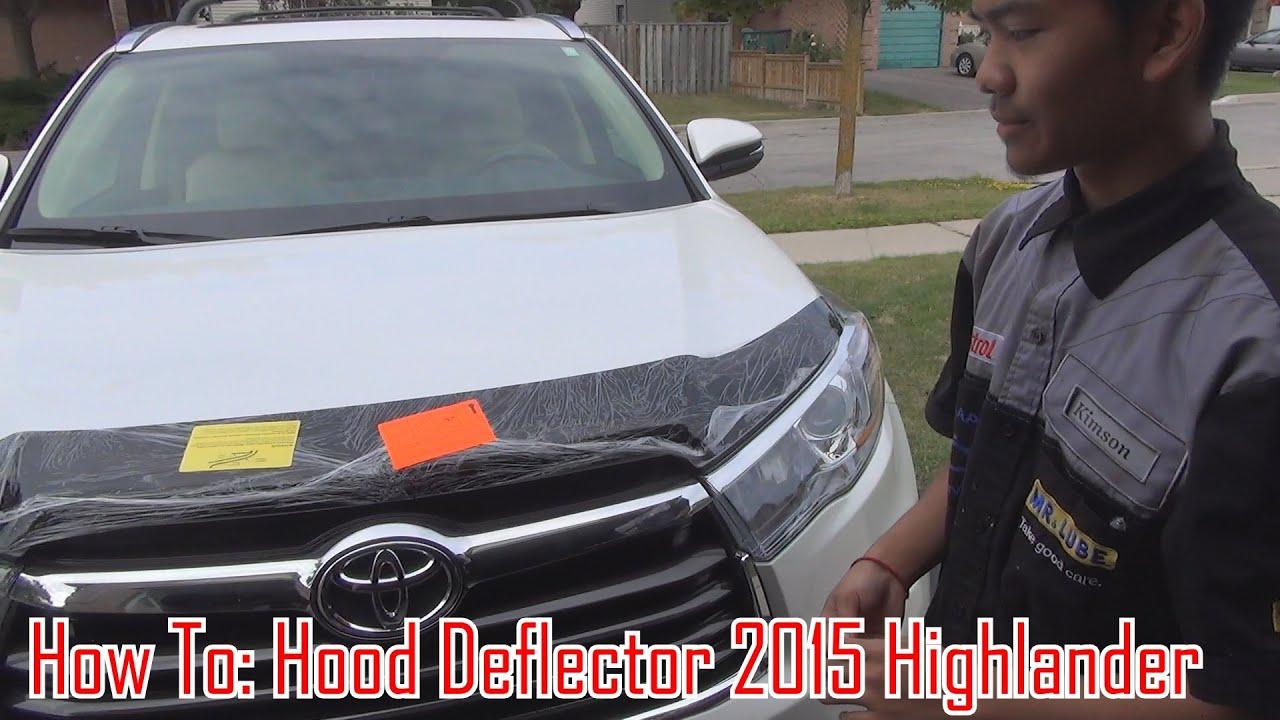 How To Install Hood Bug Deflector On 14 15 16 17 18
