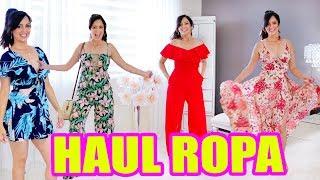 ESTOY GORDA? Me Pruebo 19 Vestidos! Haul de Ropa Hot Miami Styles - SandraCiresArt