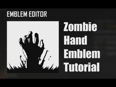 Black Ops 2 Zombie Hand Emblem Tutorial Youtube