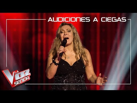 Adriana Ceballos Canta 'Somebody Else´s Guy' | Audiciones A Ciegas | La Voz Senior Antena 3 2019
