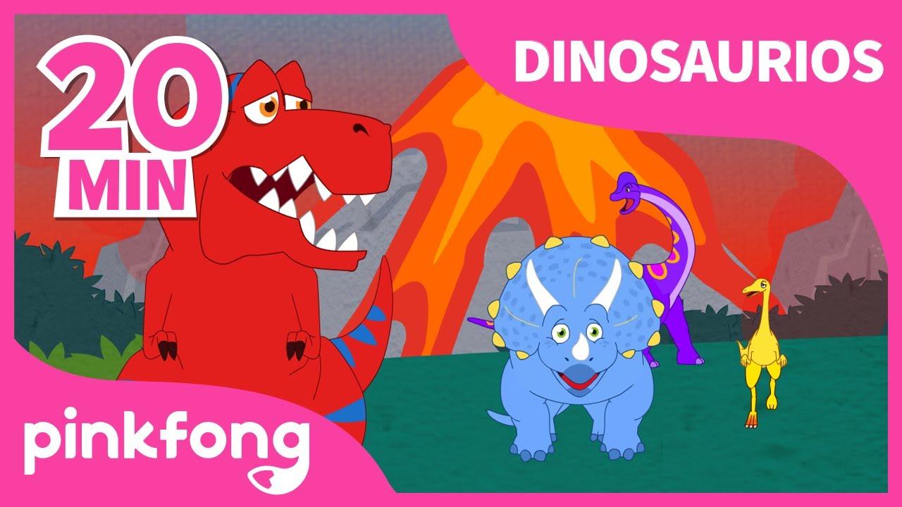 ¿Dónde Están los Dinosaurios? |+Recopilación | Dinosaurios para niños |Pinkfong Canciones Infantiles