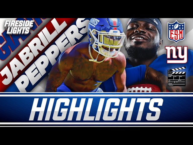 Jabrill Peppers 2020 Highlights   New York Giants Safety