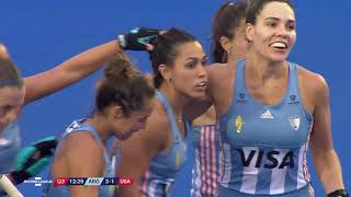 Argentina v United States | Match 9 | Women's FIH Hockey Pro League Highlights
