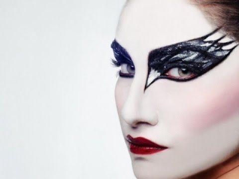 karneval make up i black swan i tutorial youtube. Black Bedroom Furniture Sets. Home Design Ideas