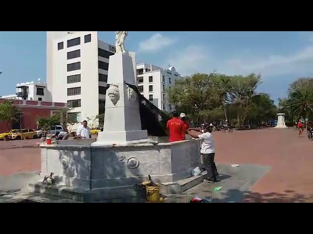 Nuevamente pondrán en funcionamiento el monumento de la 'Fuente de las cuatro caras'