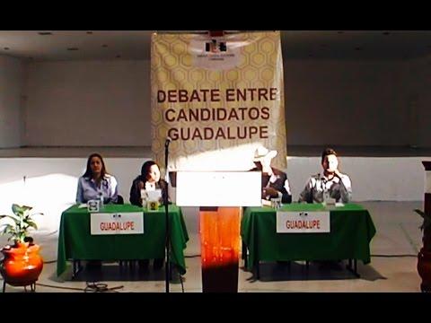 Debate Guadalupe D.B. 2016 Completo