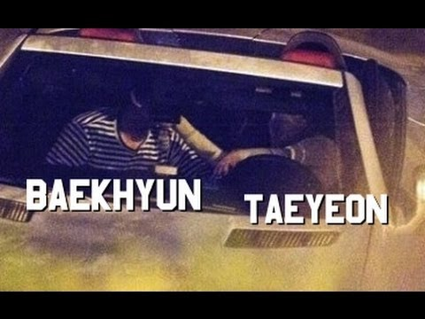 baekhyun and taeyeon dating kiss