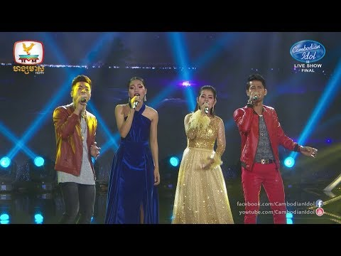 Cambodian Idol Season 3 Live Show Final | TOP 4 Performances