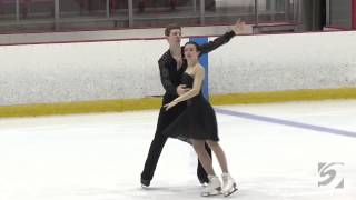 Elizabeth Addas and Jonathan Schultz   Youth Olympic Games Qualifier   Junior Free Dance