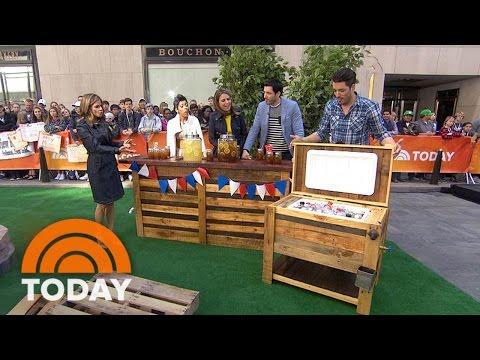 'Property Brothers' Drew And Jonathan Scott Create Dream Backyard | TODAY