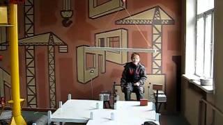 тренажор башенного крана(действующий тренажер башенного крана в учебном комбинате харьков., 2011-01-15T17:37:47.000Z)