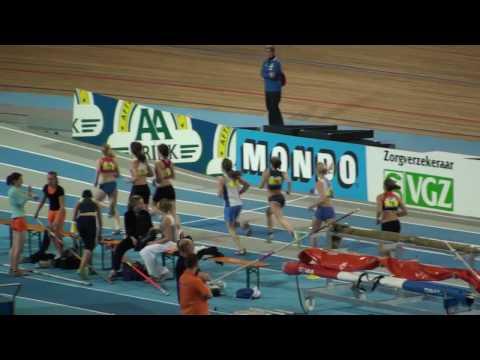 Rio Sara Nederveen 800 meter finale NK Indoor 08022009