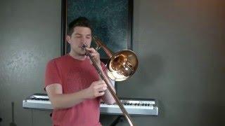 High F - High G on Trombone - Conn 88H Trombone