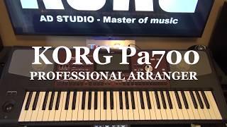 KORG Pa700 - Informatii & Daniel Andronescu