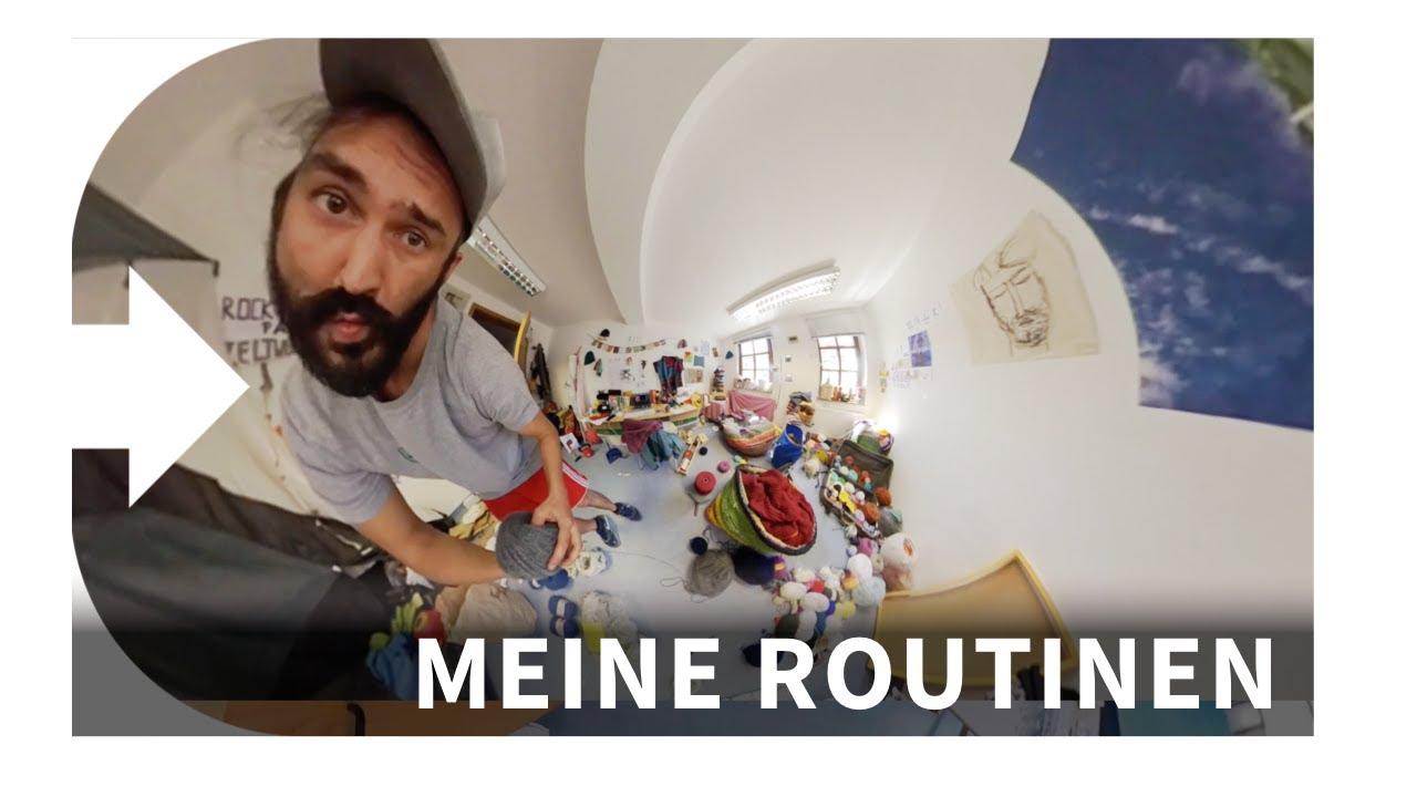 Meine Routinen | Zu Besuch im Atelier von Martina Dorsch | Meine Mönchskutte