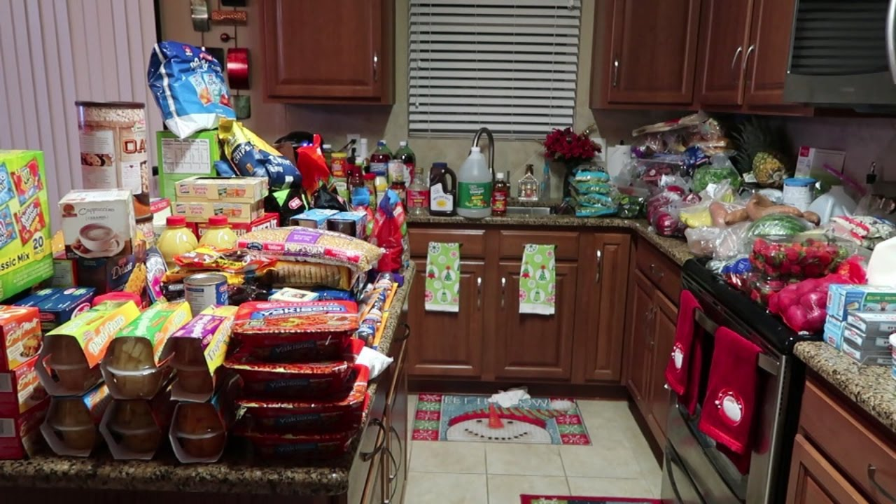Largest Grocery Haul Ever! ~$640 HEB 1+ Month Worth of Groceries!~