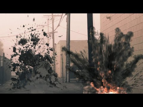 Debris, Cracks, Ground Burst FX!