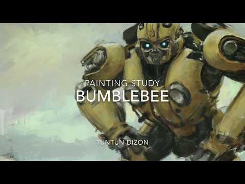 Ipad Painting: Bumblebee timelapse