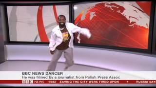 BBC News Dancer live on BBC News