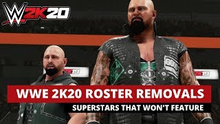 Superstars That Won't Make The WWE 2K20 Roster!