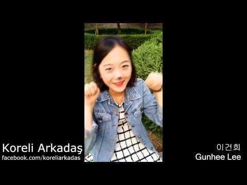 Türk çocuk şarkısını söyleyen koreli kız
