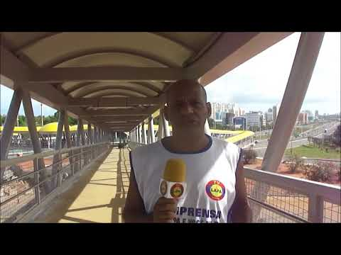TV LAPA DIGITAL REPORTAGEM METRÔ DE SALVADOR UPB FERROVIA OSTE LESTE