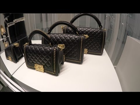 0a1cf1487a0e Luxury Chanel Shopping Vlog! Chanel Boy Bags, Wallet On Chain, CC Trendy,  Chanel Gabrielle Bags