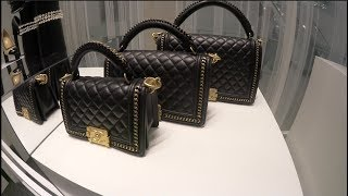 Luxury Chanel Shopping Vlog! Chanel Boy Bags, Wallet On Chain, CC Trendy, Chanel Gabrielle Bags