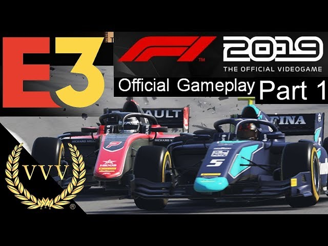 F1 2019 F2 Gameplay - E3 2019 Part 1