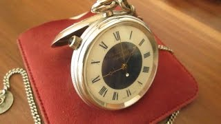 chs tissot et fils pocket watch with alarm as 1475