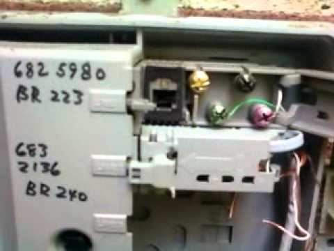 hqdefault phone demarc check youtube Telephone Wall Jack Wiring Diagram at panicattacktreatment.co