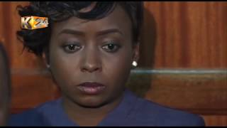 MARIBE'S CONDITIONAL FREEDOM: Maribe barred from reading news during the trial period