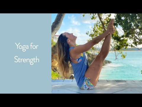 Yoga For Strength- Shoulders, Core, And More — 30 Minute Yoga