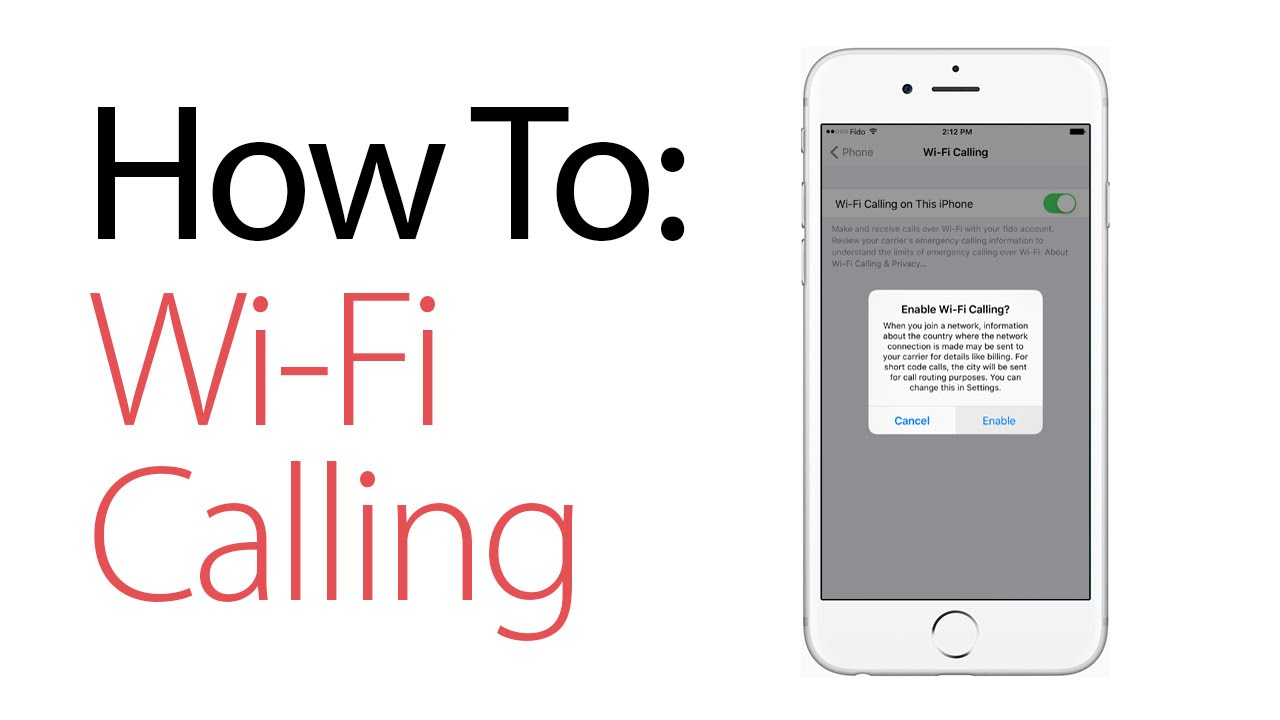 wifi phone calls iphone how to enable wi fi calling on the iphone 16508
