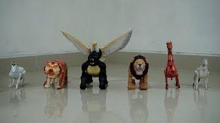 Walking animal toys with sound horse, tiger, gorila, eagle animal, lion