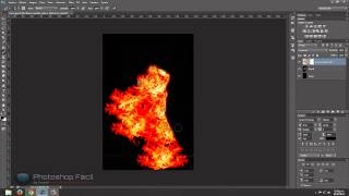 Efecto Silueta de fuego Photoshop Fácil by Yanko0